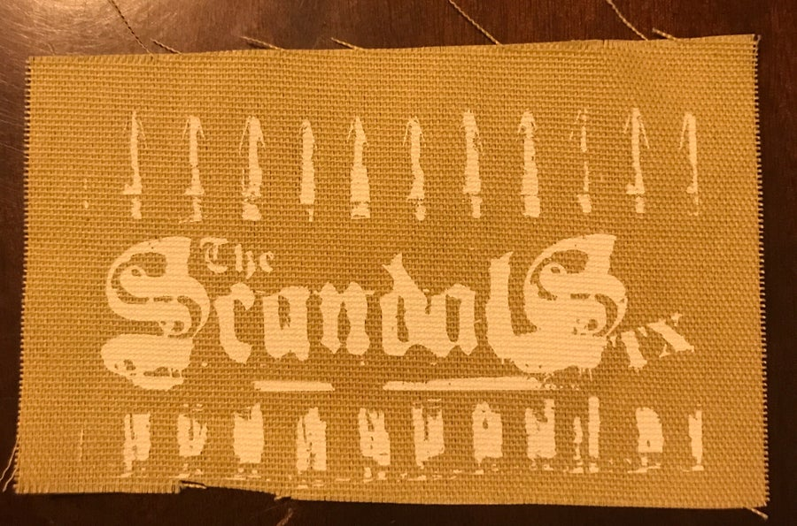 Image of The Scandals TX Cloth Patch - Bullets