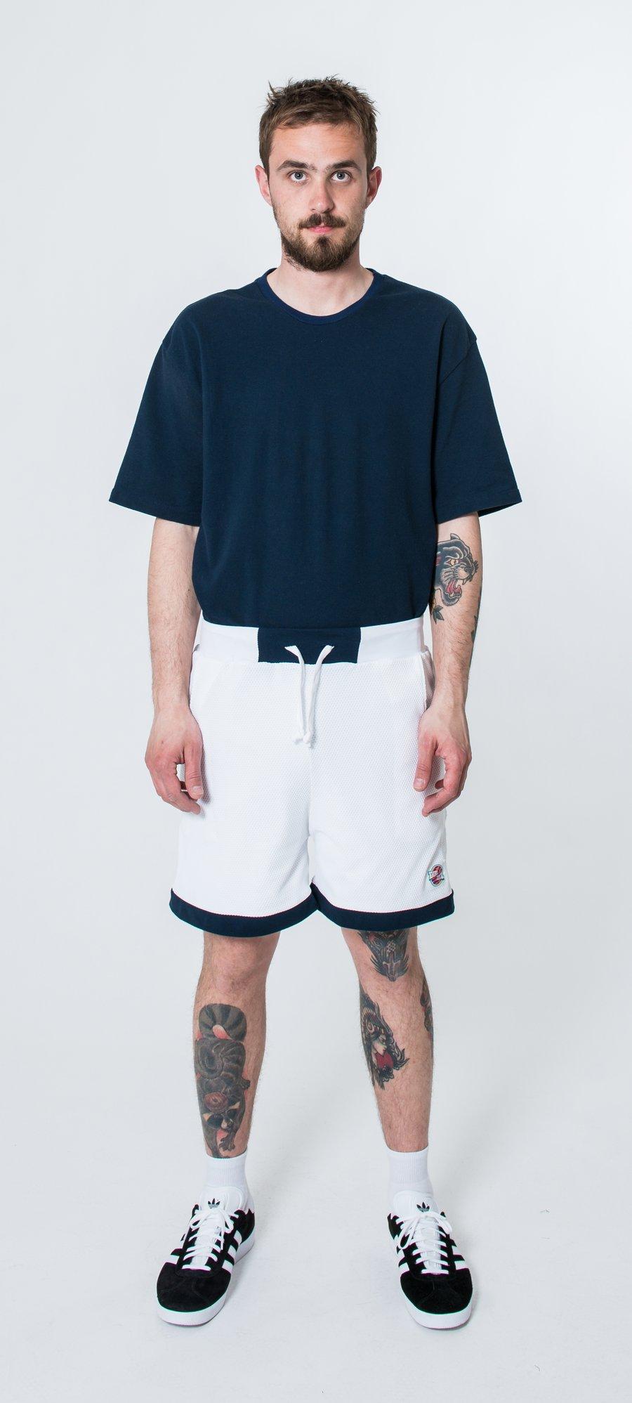 Image of Teamsquad Shorts (white mesh)