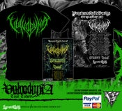 Image of VULVODYNIA - Tour Shirt - Green Logo + TOUR POSTER