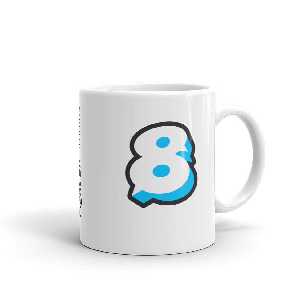 Image of Eight Bit Logo Mug