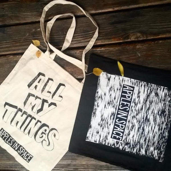 Image of Organic Tote Bag- white/weiß or black/schwarz