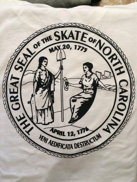 Image of D.O.T. x Push Skateshop North Carolina Skate Seal