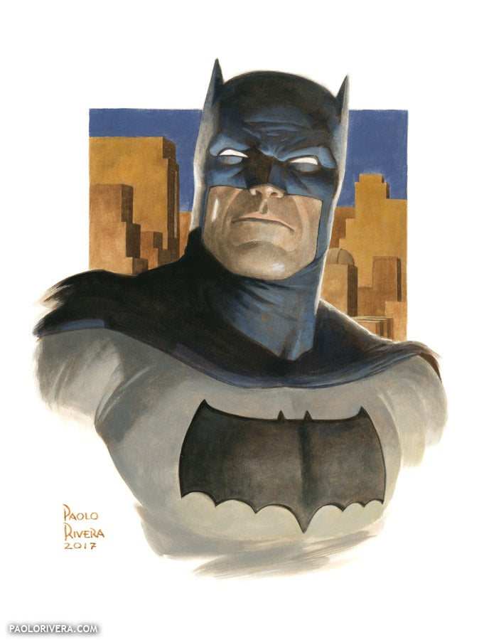 Image of BATMAN (THE DARK KNIGHT) print