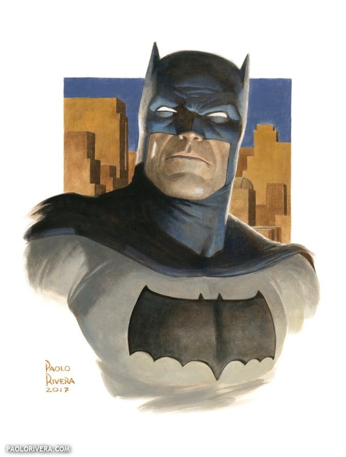 Image of BATMAN (THE DARK KNIGHT) print