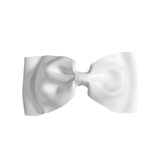 Image of White Flat Bow