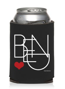 Image of Bend Oregon Heart Beer Can Cooler