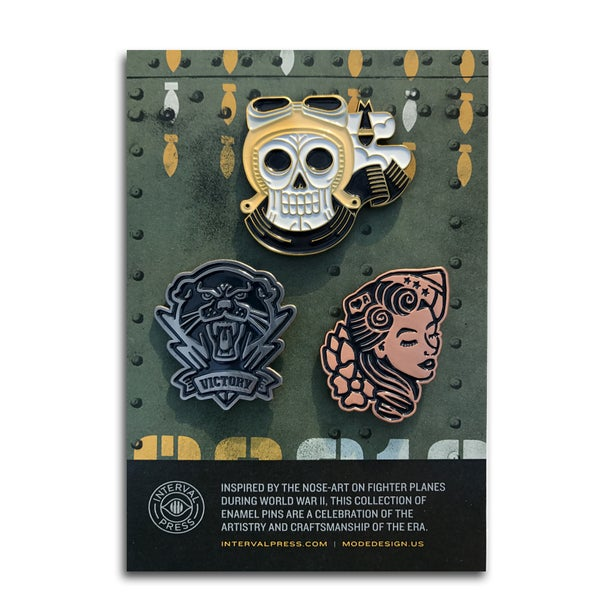 Image of Three-pack pin set