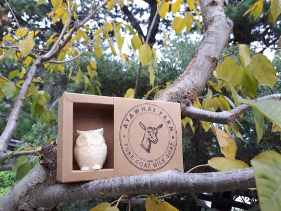 Image of Pure Goat Milk Soap - Owl