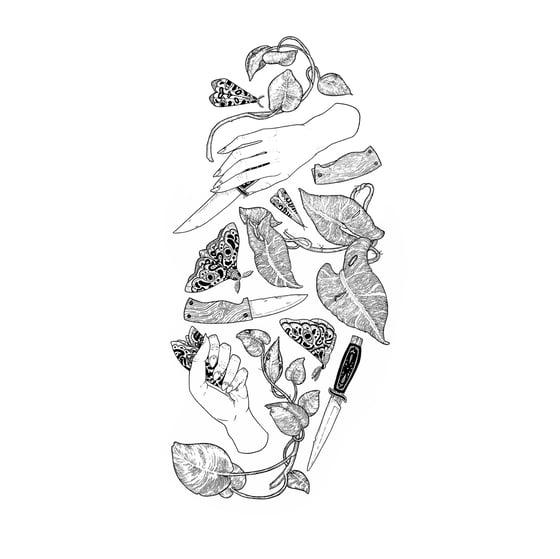 Image of 'Devil's Ivy' A3 Print