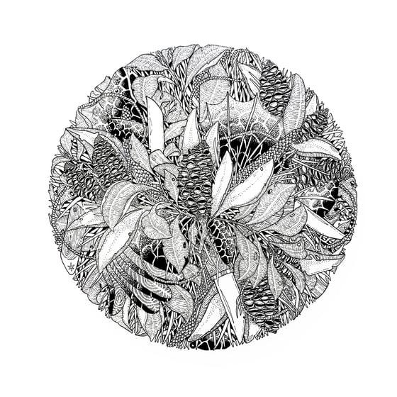 Image of 'Lennox Head Two' A3 Print