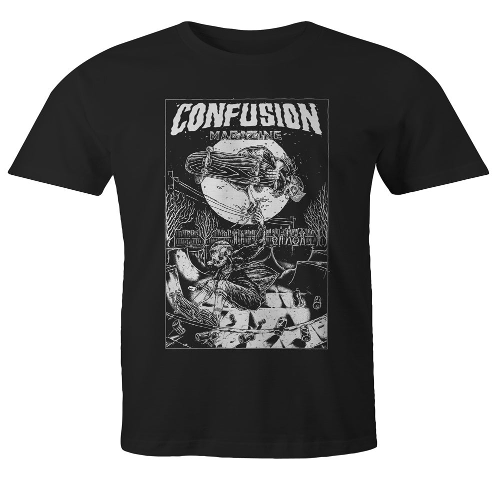 Image of Confusion - CHEERS t-shirt [black]