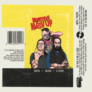 Image of MONSTERS OF MASH UP 7""