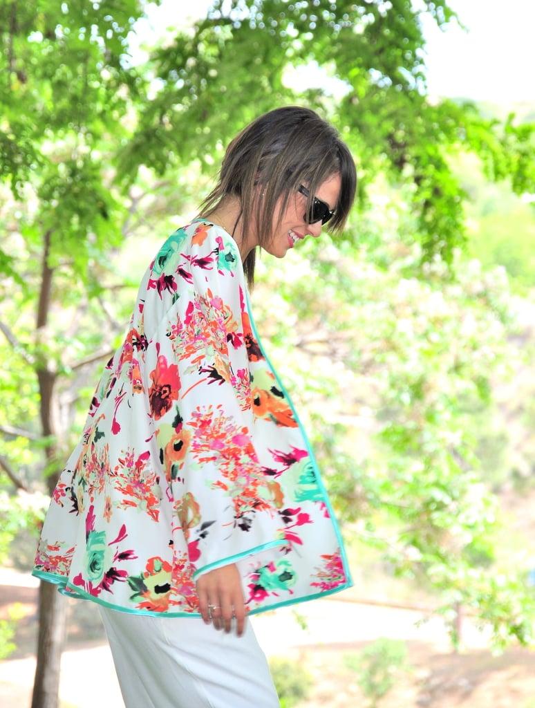 Image of Kimono FLORES
