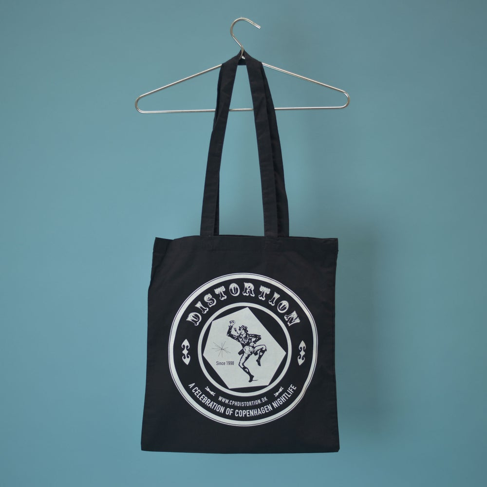 Image of Black Logo Tote Bag