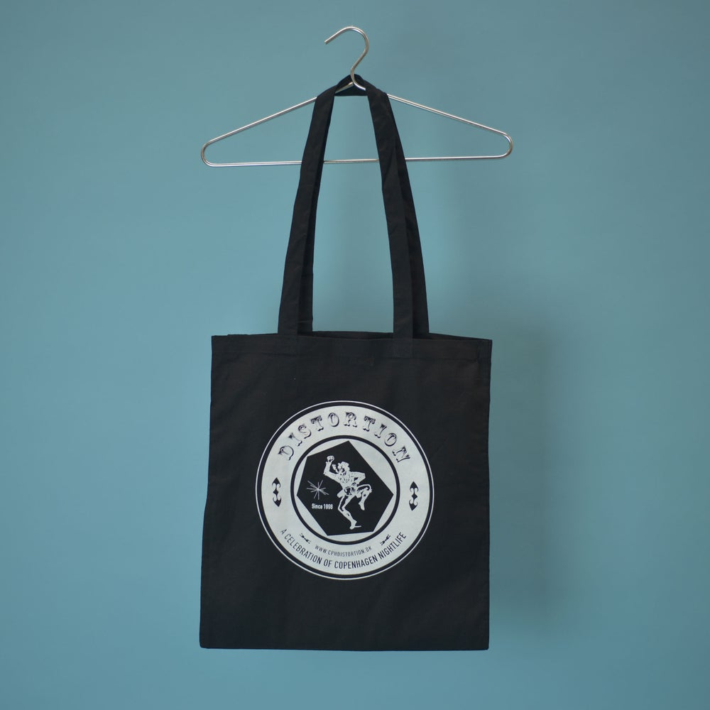 Image of Black Inverted Logo Tote Bag