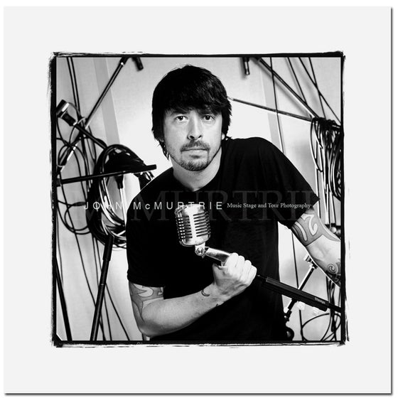 Image of DAVE GROHL - 606 STUDIO 20x20