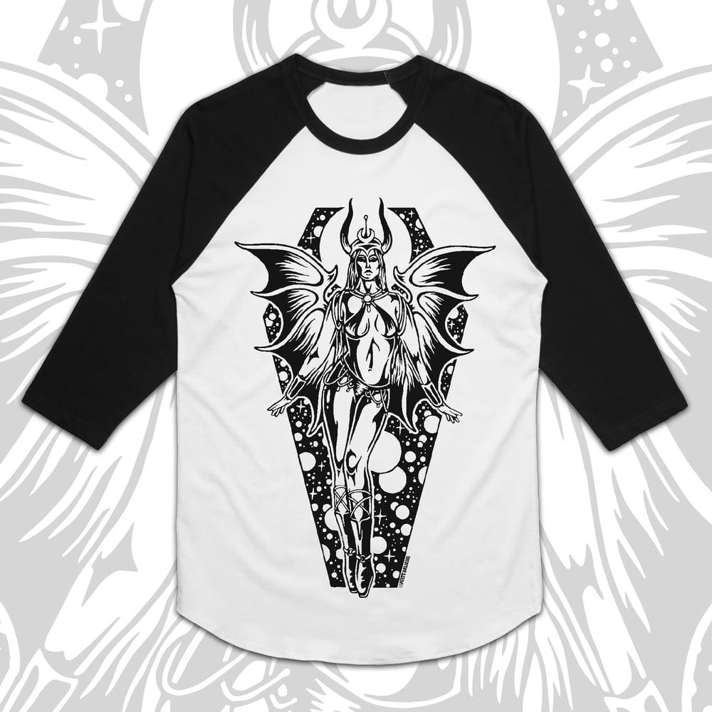 Image of Devil Maiden - Baseball Shirt