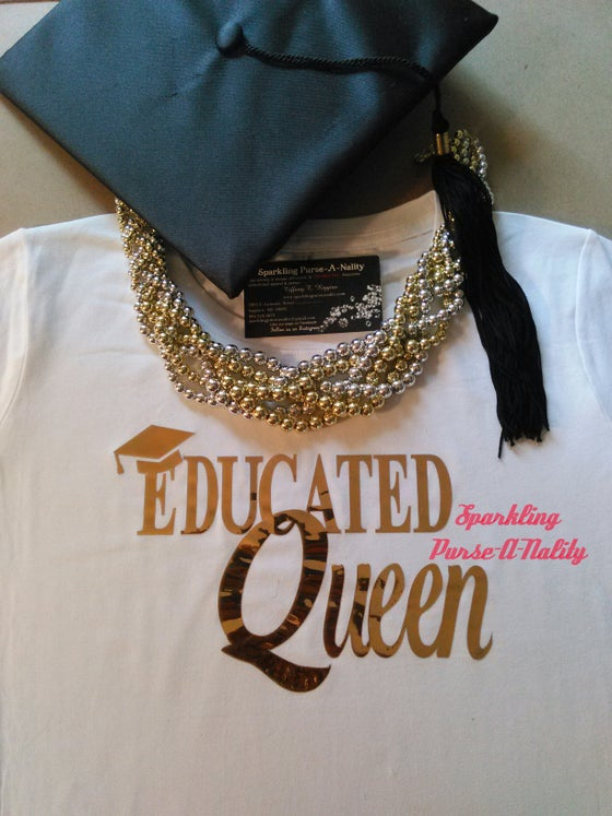 "Image of ""Shiny"" Educated Queen"