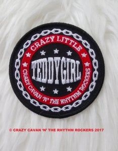 """Image of """"CRAZY LITTLE TEDDY GIRL"""" PATCH"""