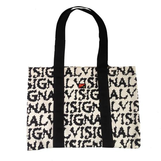 Image of VISIGNAL CANVAS SHOULDER BAG