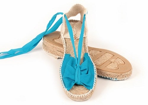 Image of 3 cms peep toe espadrille - 18 colors