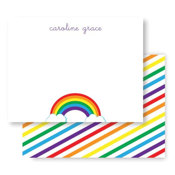 Image of Rainbow Stationery + Envelopes