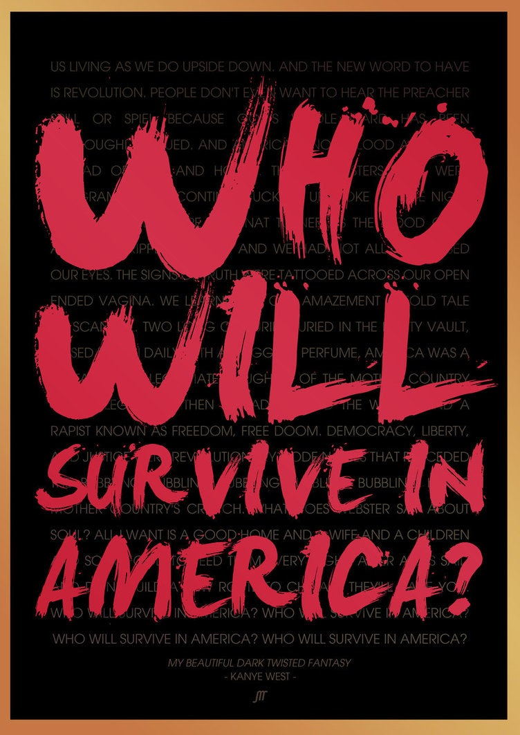 "Image of ""Who Will Survive In America?"" Pin"