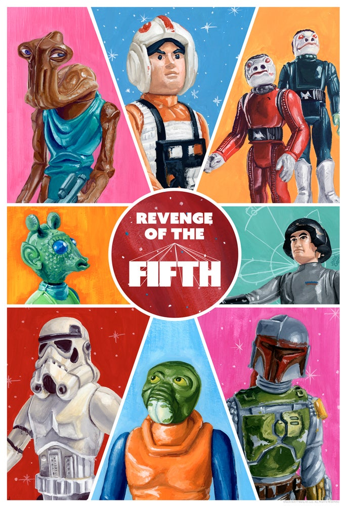"Image of ""Revenge of the Fifth"" - Print by Jason Chalker (@manlyart)"