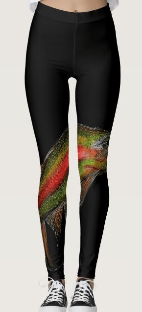 Image of Rainbow Trout Leggings
