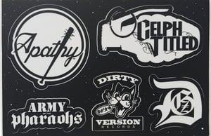 Image of Demigodz - AOTP - Dirty Version: Sticker Sheet