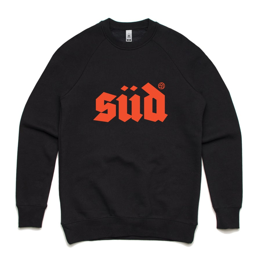 Image of Logo crew neck sweat - Black (L & XL sold out)