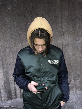 Image of Wrong Crowd - Coach jacket
