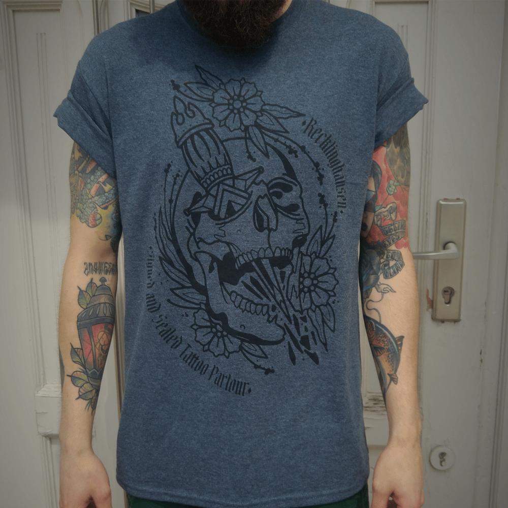 Image of Skull & Dagger Mens-Shirt