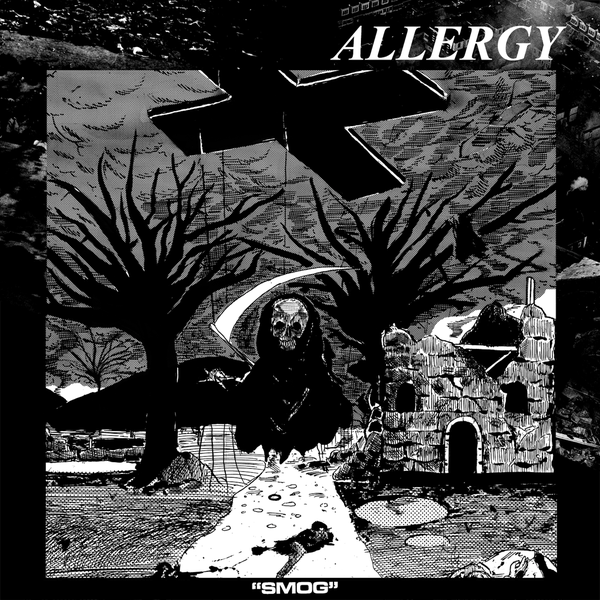 "Image of ALLERGY-""smog"" one sided LP"