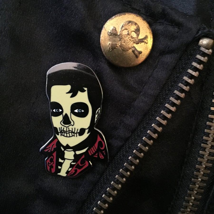 Image of Santa Muerte Hard Enamel Pin