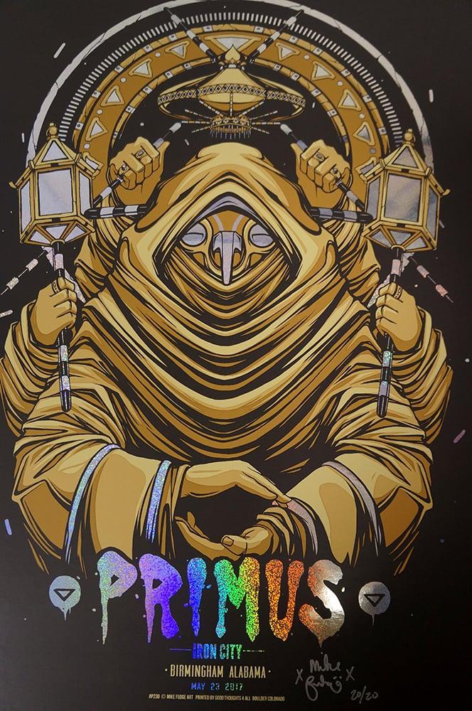 Image of Sparkle Foil - Primus - Birmingham, AL