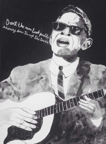 Image of Lightnin Hopkins Poster