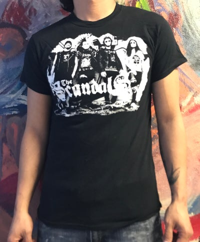 Image of The Scandals TX - Group Photo T Shirt