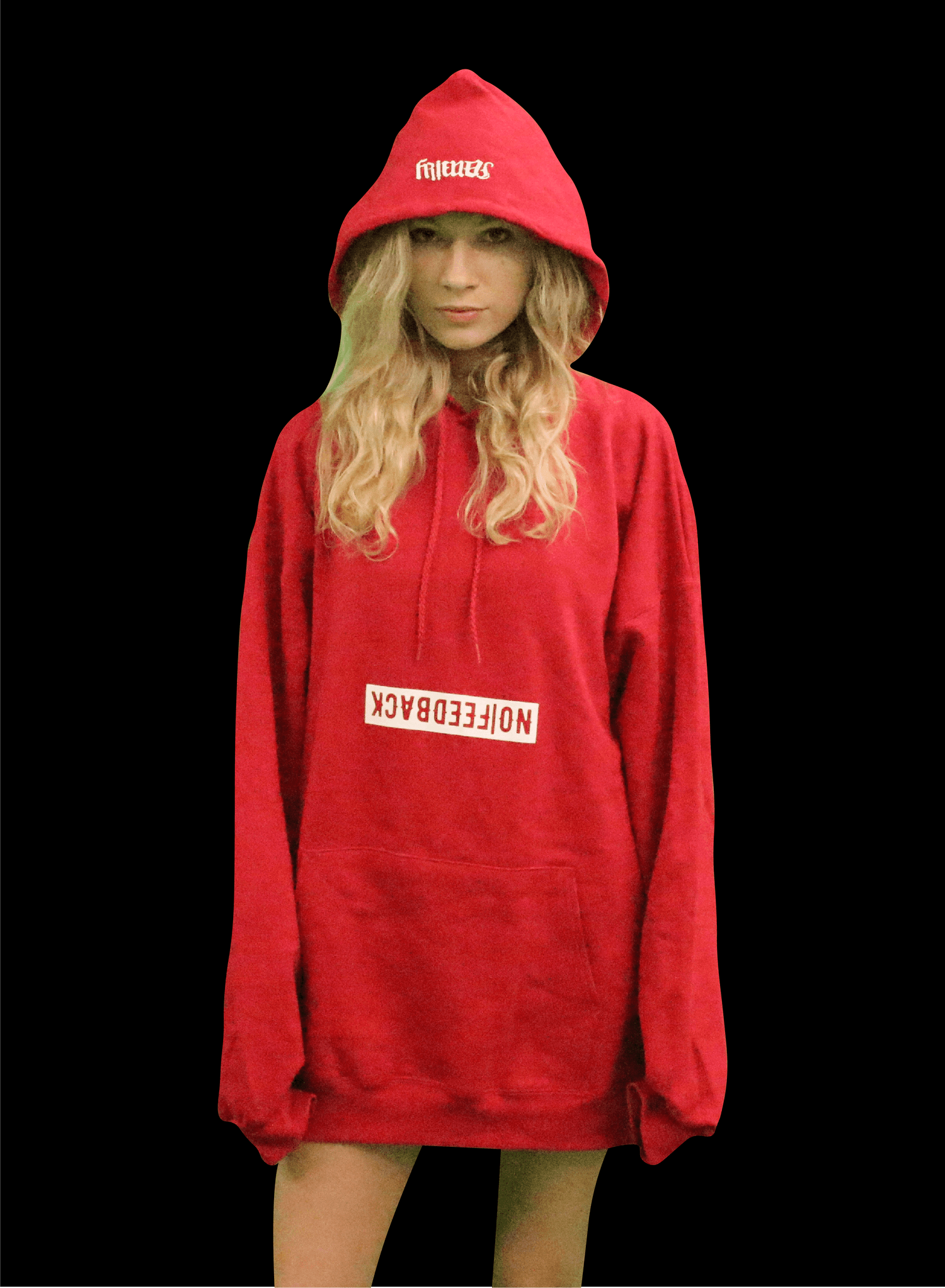 """Image of """"Friends&Fam Hoodie"""" RED