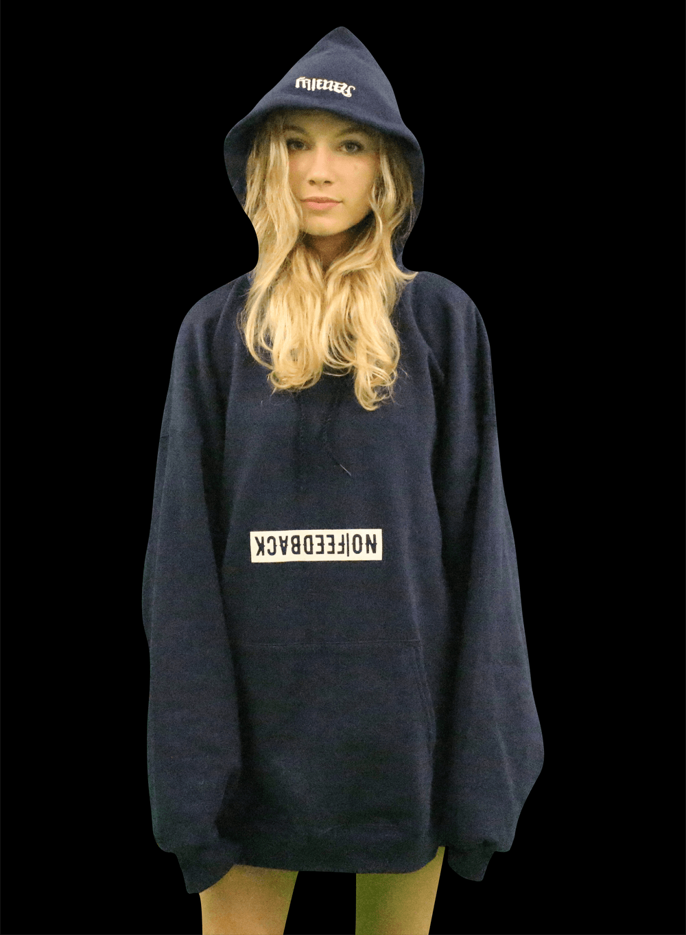 "Image of ""Friends&Fam Hoodie"" NAVY