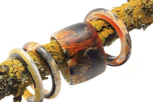 Image of Leopard Toned Tall bangle