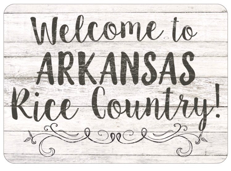 Image of Doormat - Welcome to Arkansas Rice Country!