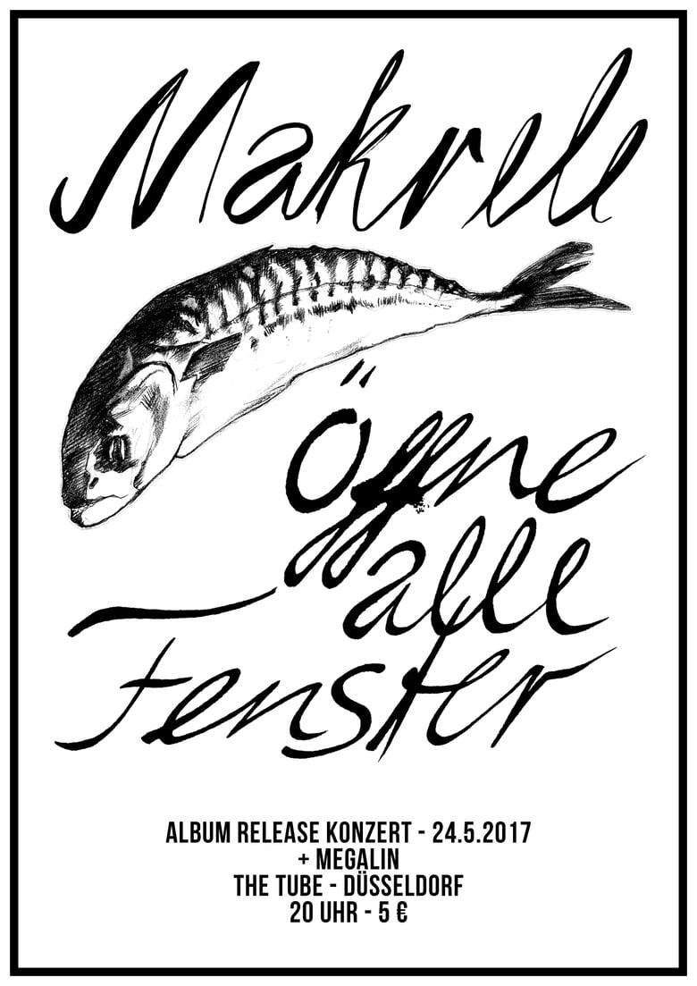 """Image of """"Öffne alle Fenster"""" Album-Release-Plakat"""