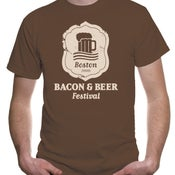 Image of Bacon & Beer Badge Shirt