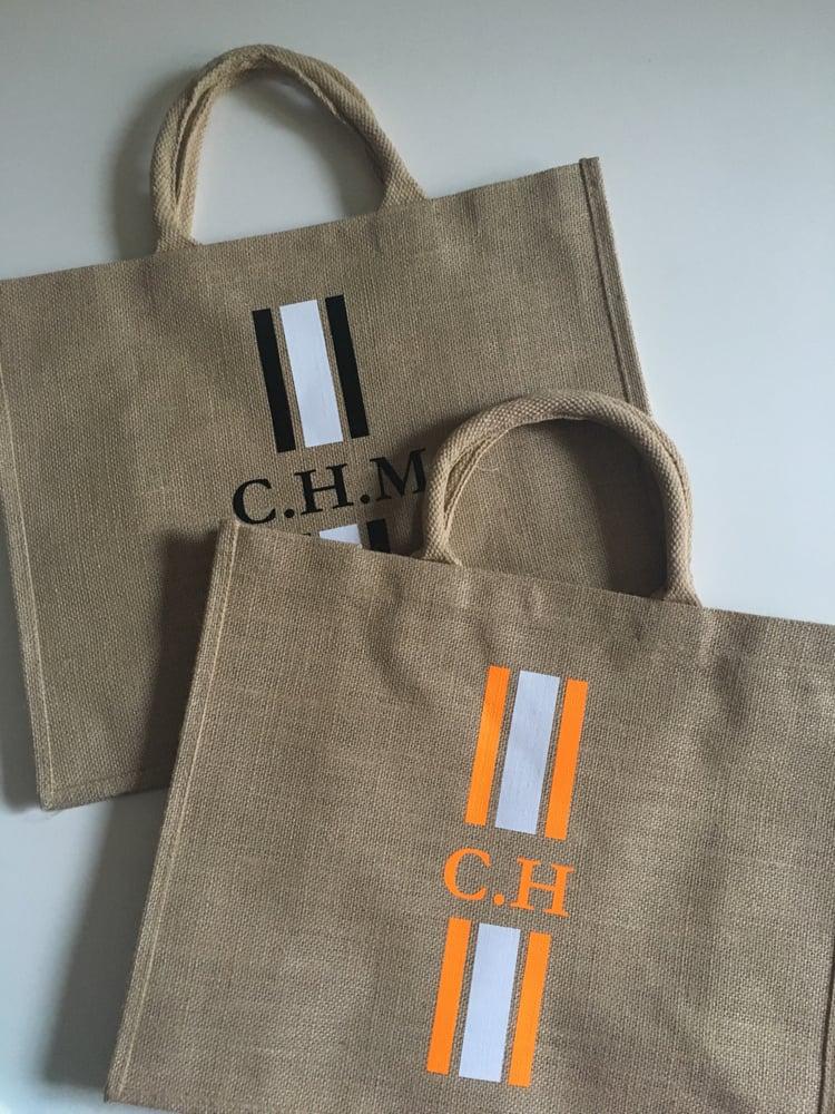 Image of Cabas initiales / initial bag