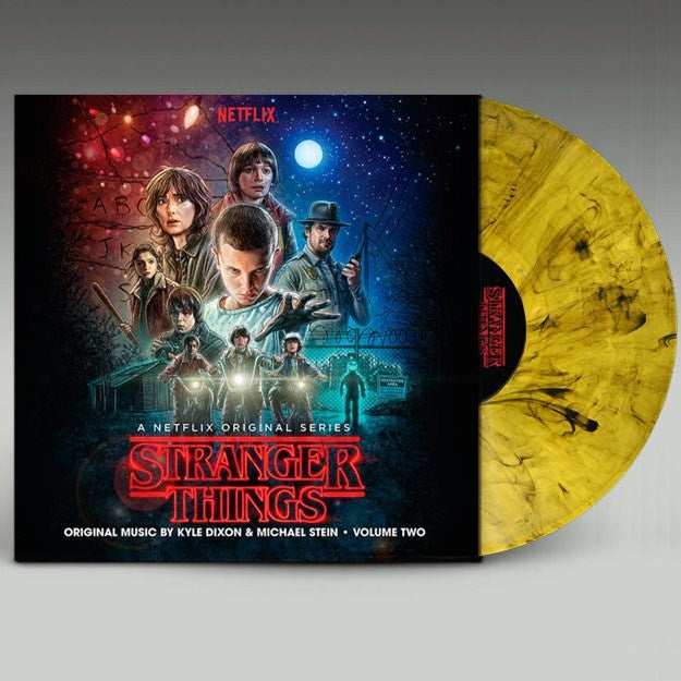 Image of Stranger Things Volume Two 'Waffle Swirl' Vinyl - Kyle Dixon & Michael Stein