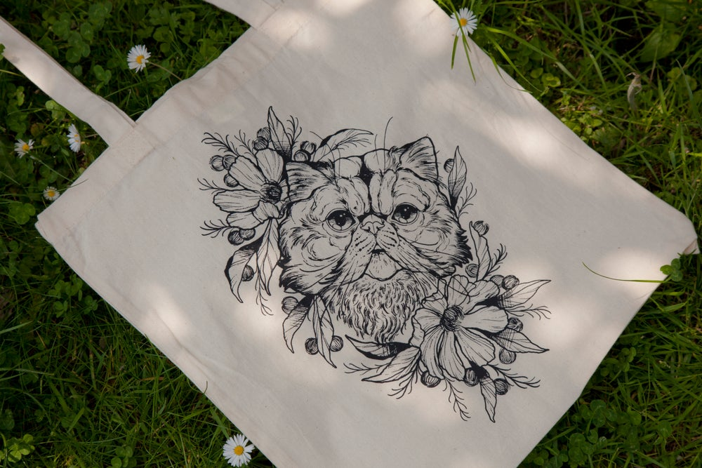 Image of Cat Tote Bag