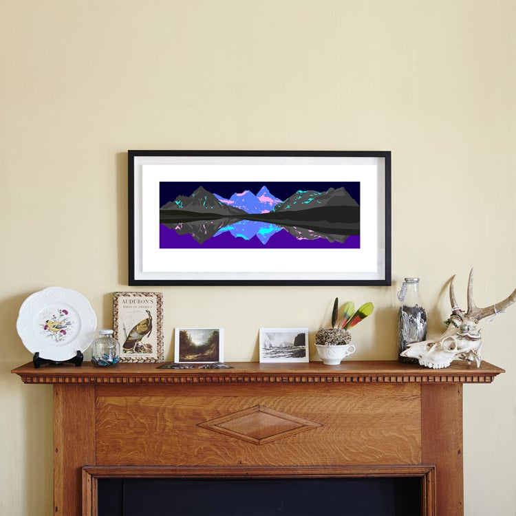 Image of Arcadia iii<br />limited edition print<br />32 x 70 cm<br /><br />