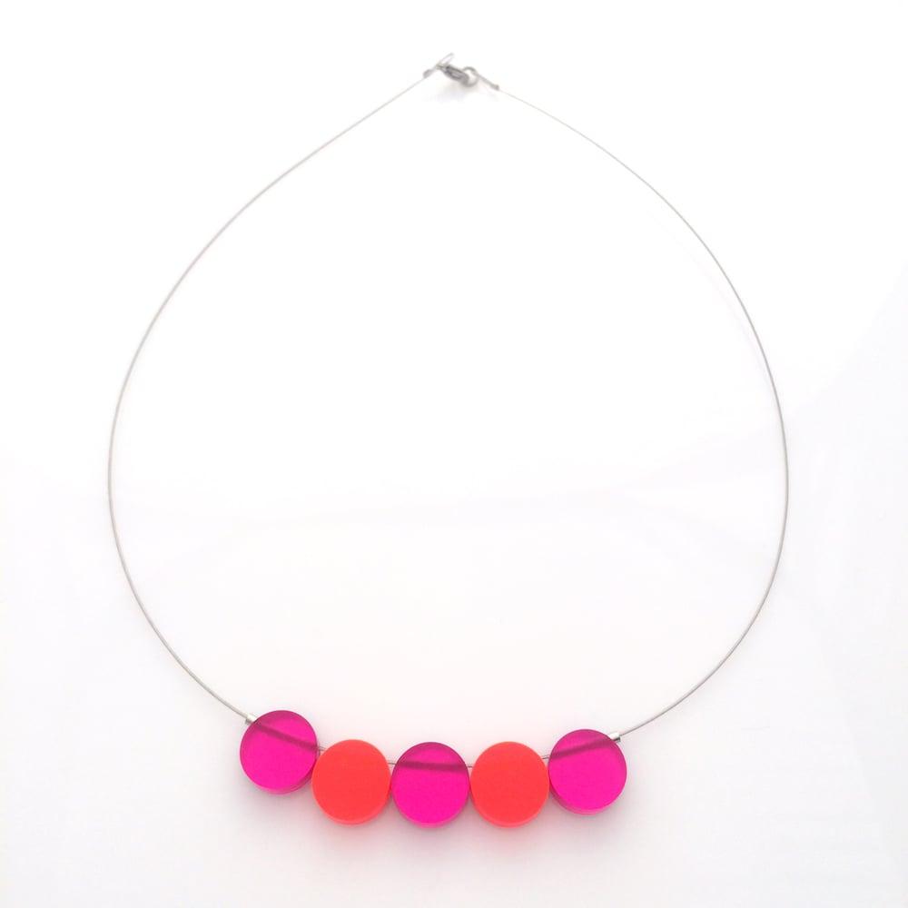 Image of Náhrdelník / Necklace Circles
