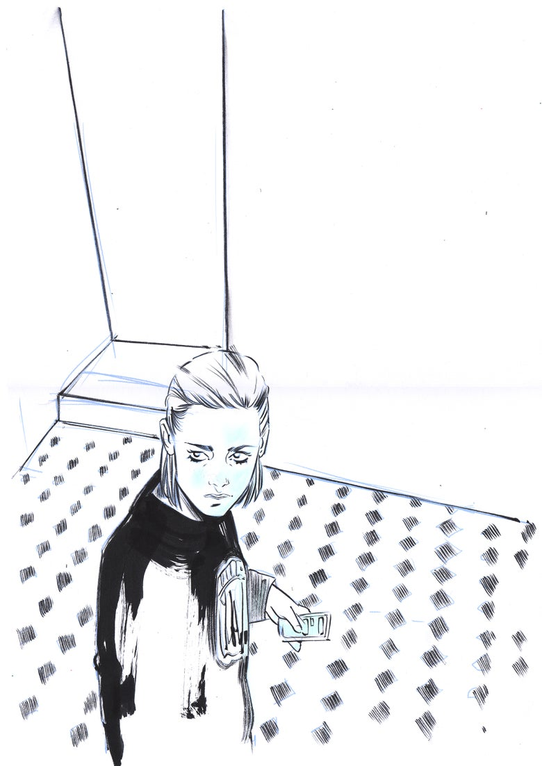 Image of Personal Shopper Mondo Print - Original Prelim